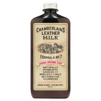 Leather Milk Saddle Washing Soap - No. 7 - All-Natural, Non-Toxic Saddle Soap Deep Cleaner for Western & English Saddles and Tack. Dye and Scent Free. Made in USA. Includes Saddle Scrub Sponge Pad!