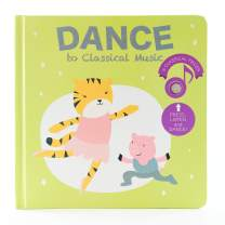 Cali's Books- Dance with Me to Classical Music - Press, Listen and Dance! Children's Classical Music Dance Book - Best Interactive Gift for Baby, Toddler, 1-4 Year Old Girl and Boy. Award Winner Book