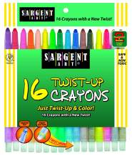 16-Count Twist-Up-Crayons - New