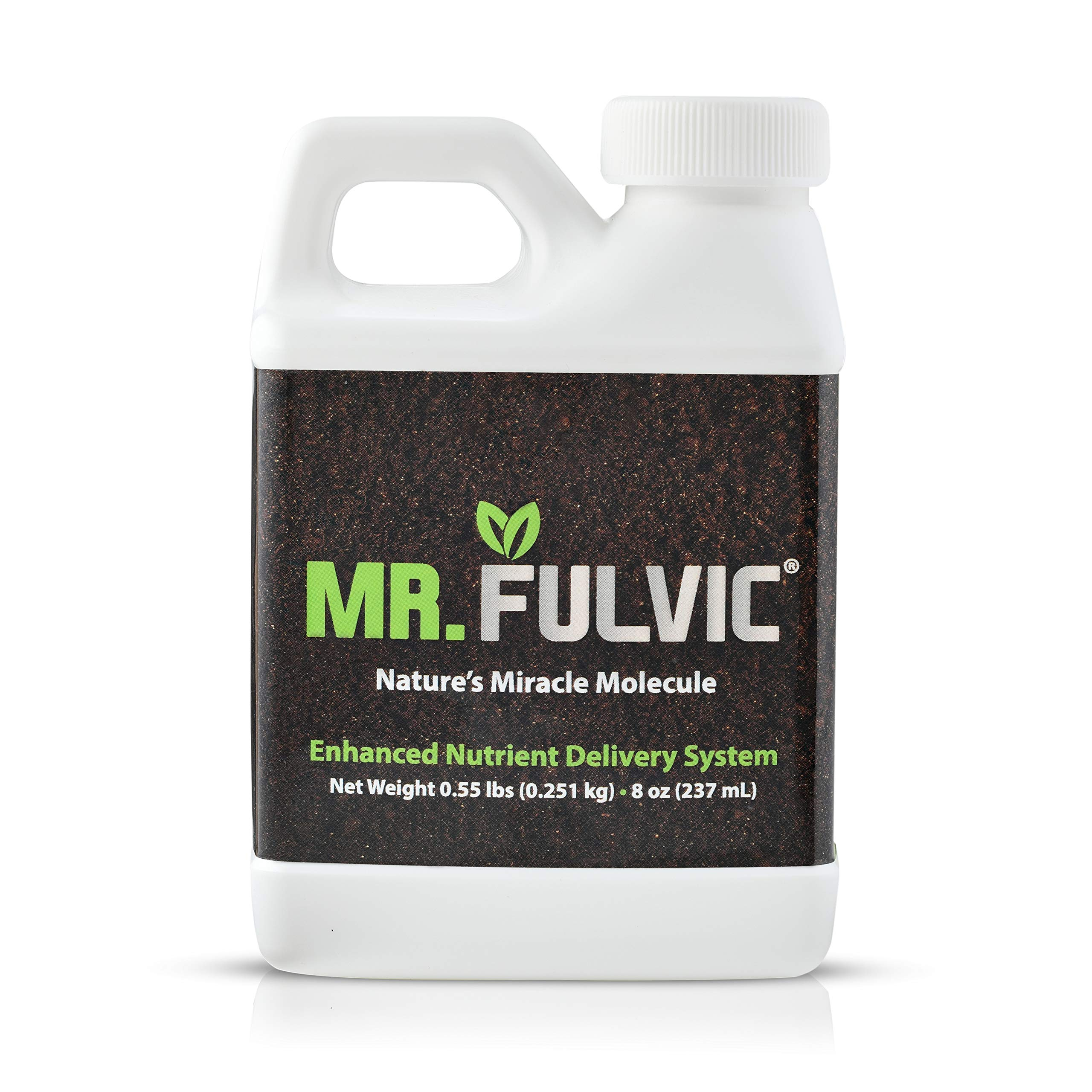 Organic Fulvic Acid Plant Amendment, Natural Humic Soil and Hydroponic Nutrient Enhancer - Lawn and Garden Growth, Plant Health