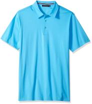 Bugatchi Men's Lightweight Cotton Short Sleeve Knit Shirt