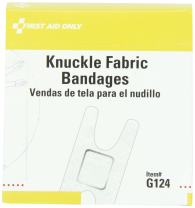 First Aid Only Knuckle Fabric Bandage, 40 Count