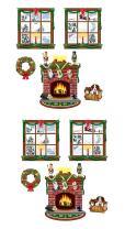 Beistle S20213AZ2, 10 Piece Indoor Christmas Decor Props, 15'' - 49''