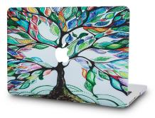 "KECC Laptop Case for Old MacBook Pro 13"" Retina (-2015) Plastic Case Hard Shell Cover A1502 / A1425 (Colorful Tree)"