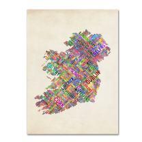 Ireland II by Michael Tompsett, 14 by 19-Inch Canvas Wall Art