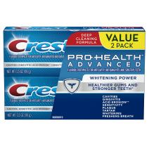 Crest Pro-Health Advanced Whitening Power Toothpaste, Twin Pack