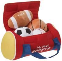 "GUND Baby My First Sports Bag Stuffed Plush Playset, 5 Piece, 8"""