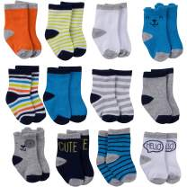 Onesies Brand Baby Boys' 12-Pair Crew Sock, dog