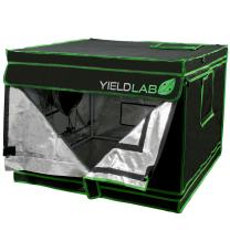 """Yield Lab 32"""" x 32"""" x 24"""" Grow Tent with Viewing Window – for Indoor, LED, T5, CFL, HPS, CMH – Hydroponic, Aeroponic, Horticulture Growing Equipment"""