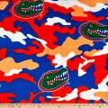 "Sykel Enterprises""""University of Florida Fleece Camo Orange/Blue"""