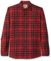 Amazon Brand - Goodthreads Men's Long-Sleeve Brushed Flannel Shirt