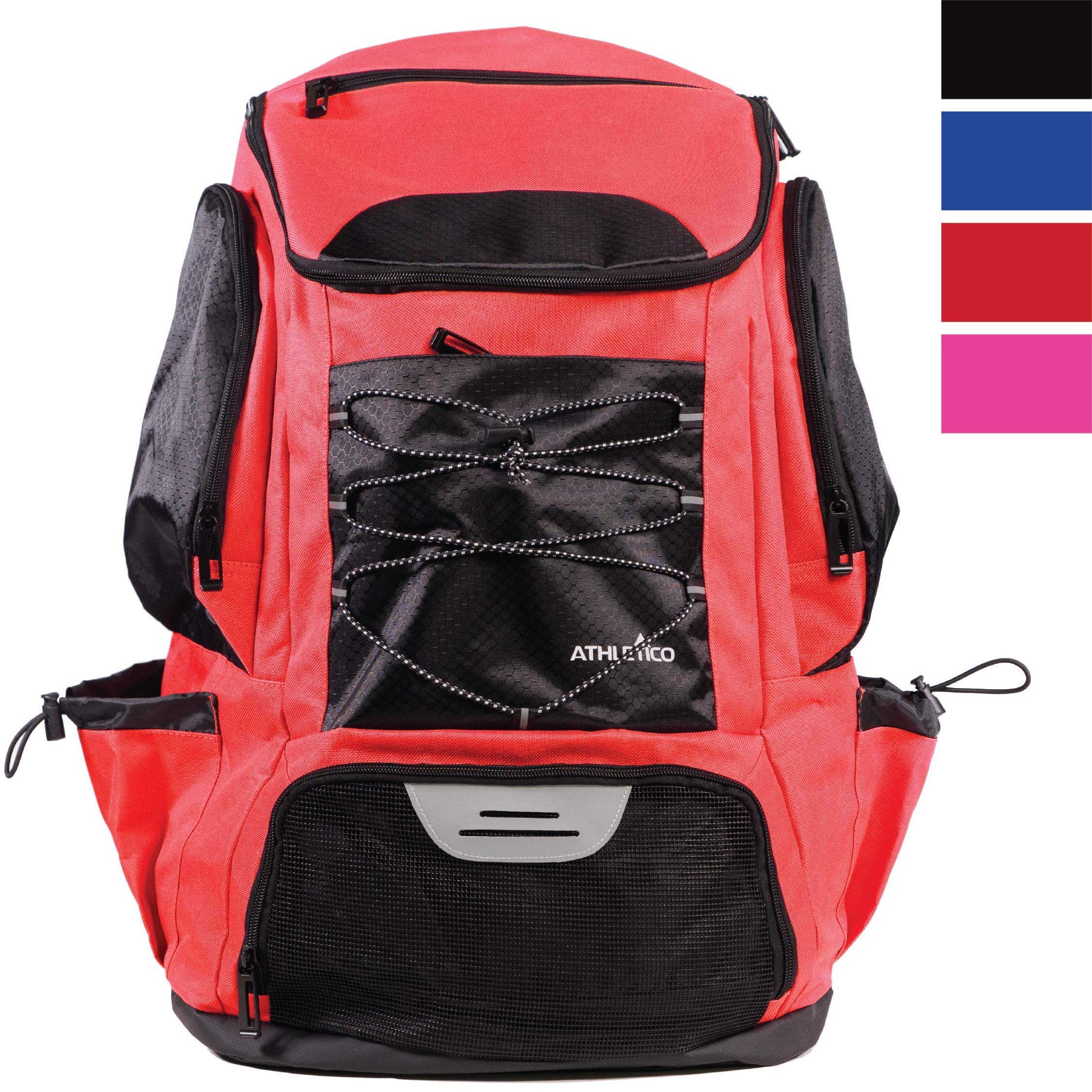 Athletico Swim Backpack - Swim Bag with Wet & Dry Compartments for Swimming, The Beach, Camping - Pool Bags Include Laptop Sleeve