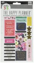 me & my BIG ideas  PPSP-90 Create 365 The Happy Planner Snap in Sticker Pad, Happy Life