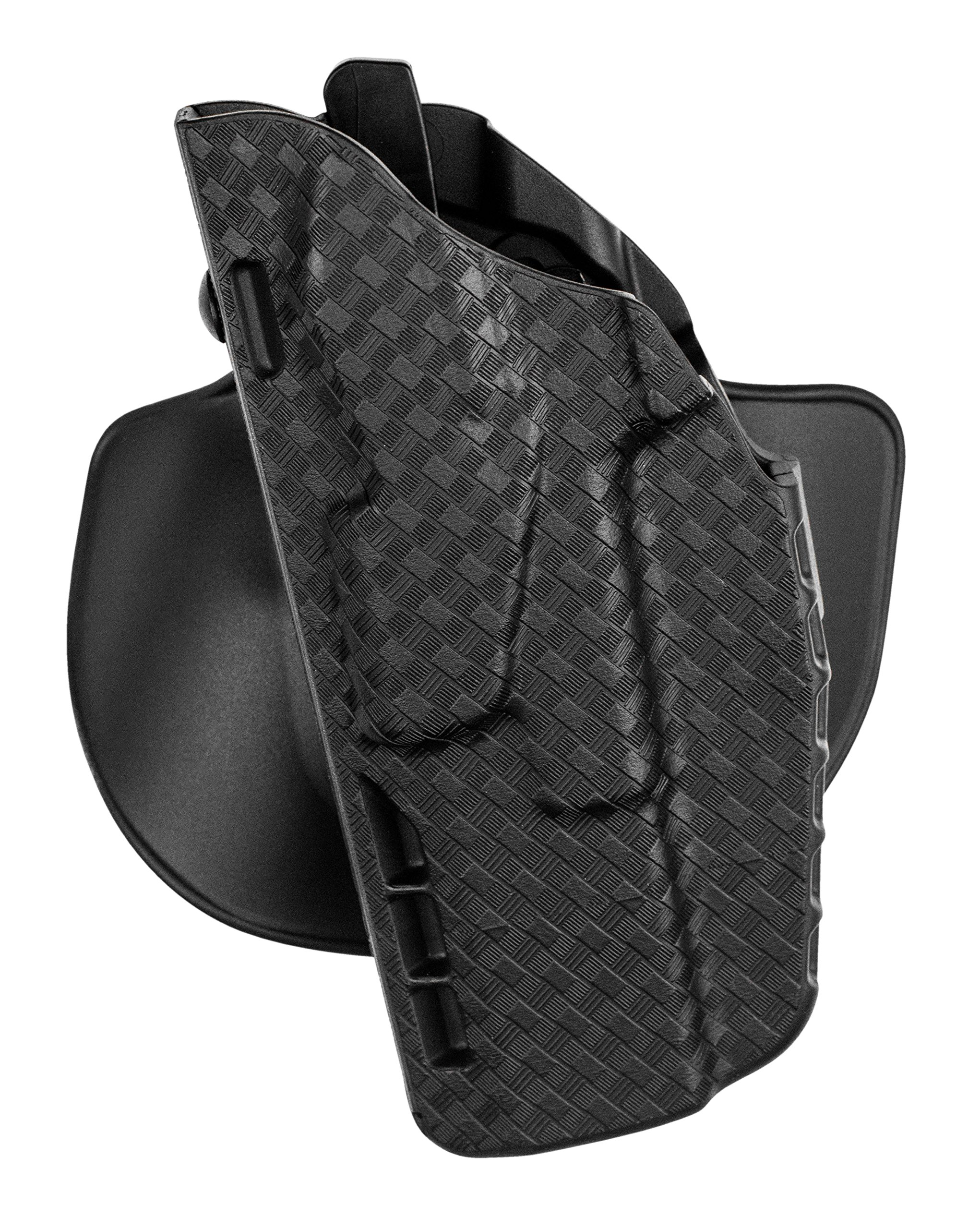 Safariland, 7378, ALS Concealment Paddle and Belt Loop Combo Holster, Left Hand