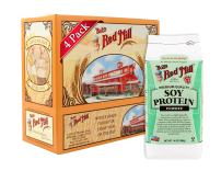 Bob's Red Mill Gluten Free Soy Protein Powder, 14 Ounce (Pack of 4)