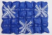 """ThermaFreeze Made in USA Reusable Ice Pack Sheets for Coolers, Long Lasting Ice Packs for Coolers, XL 10x15"""" 4x6 Cells, Lunch Box Reusable Ice Sheets"""