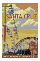 Santa Cruz, California - Beach Boardwalk (Premium 1000 Piece Jigsaw Puzzle for Adults, 19x27, Made in USA!)