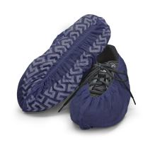 Disposable Boot & Shoe Covers 120 Pack (Size 11 or less, Dark Blue)