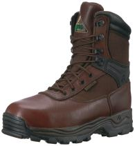 "Rocky FQ0006486 Men's 9"" Waterproof Steel Toe Boot D Width 8 Work Boots"