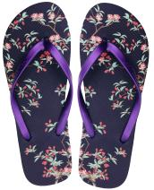 Finoceans Women's Sandals Flip Flops Beach Slipper Shoes Tong Retro Slim