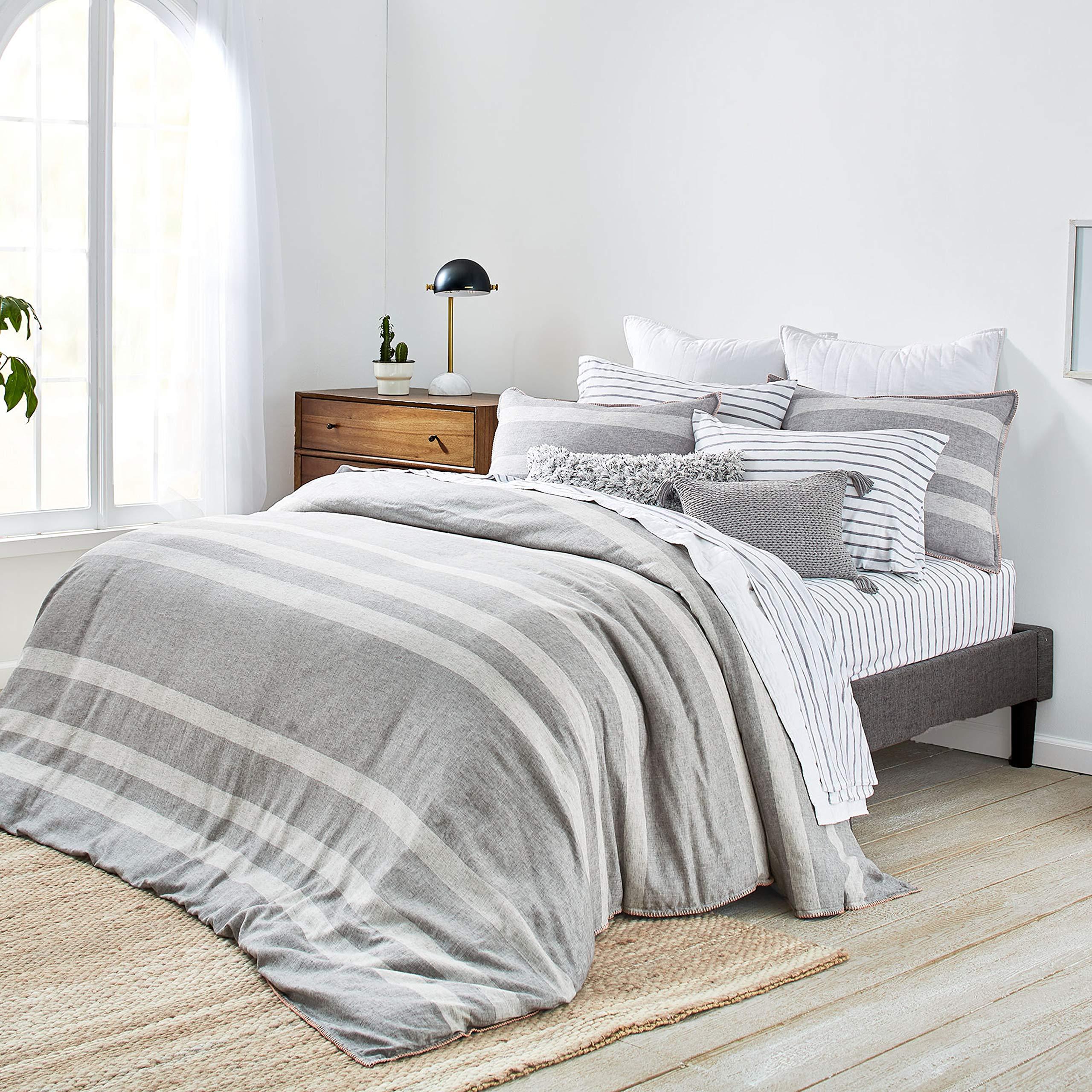 Splendid Home Carmel Comforter Set, King, Light Charcoal