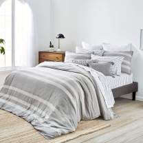 Splendid Home Carmel Duvet Set, Full/Queen, Light Charcoal
