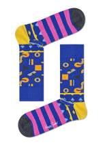 Happy Socks, Colorful Premium Cotton Print Socks for Men and Women