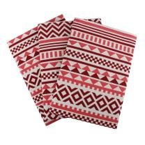 "Set of 3 Kitchen Towels, 100% Cotton of size 18""X28 Inch, Eco - Friendly & Safe, Aztec Design for Kitchen"