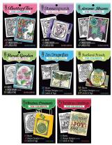 Paper Wishes – Adult Coloring Books Collection   Original Designs and Ideas to Keep You Illustrating at Home or on Travel Days – Inspiration at Your Fingertips