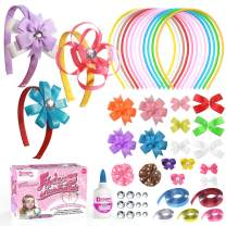 DIY Headbands for Girls Kit. Perfect Crafts for Kids Ages 4-8 – Full of Hair Accessories and Art Supplies for Kids 9-12 –Great juguetes para niñas