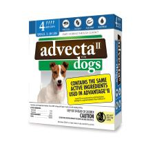 Advecta II Flea and Tick Topical Treatment, Flea and Tick Control for Dogs, 4 Month Supply