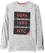 U.S. Polo Assn. Boys' Long Sleeve Graphic Printed T-Shirt