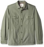 Amazon Brand - Goodthreads Men's Military Broken Twill Shirt Jacket