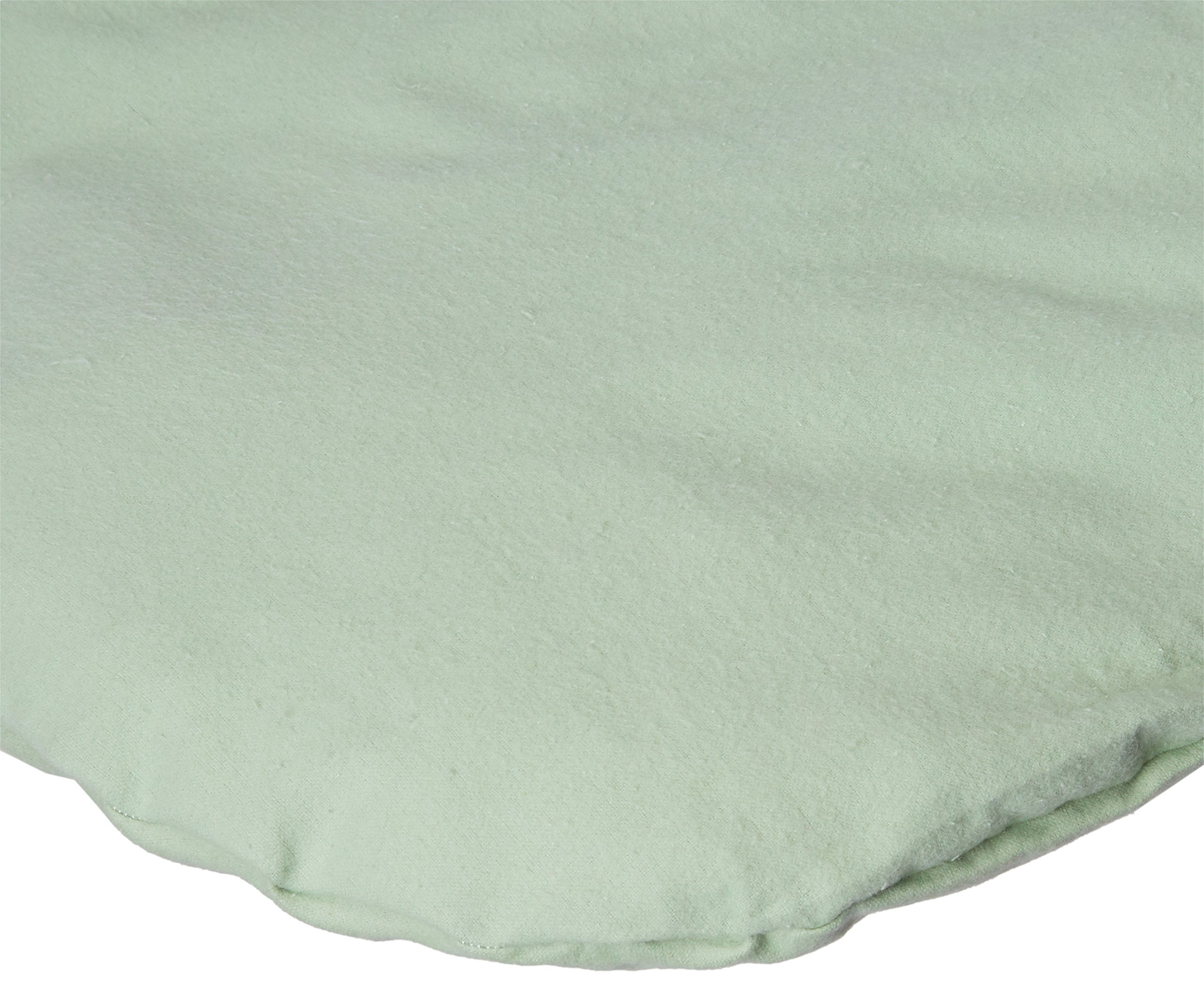 SheetWorld Fitted Bassinet Sheet (Fits Halo Bassinet Swivel Sleeper) - Flannel - Sage - Made In USA