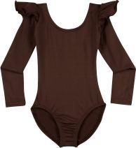 Leotard Boutique Dance Leotard - Flutter Ruffle Long Sleeve Leotards (Toddler & Girls)