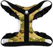 Bulldog Grade Harness for English-American-French Bulldogs - Custom Fit, No Pull, Reflective Vest Harnesses for Your Bully