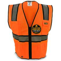 KwikSafety | Charlotte, NC | Official Class 2 Hi Vis Safety Vest Orange & Yellow