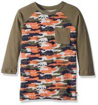 Lucky Brand Boys' Long Sleeve Camouflage Shirt