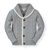 Hope & Henry Boys' Shawl Collar Sweater Cardigan
