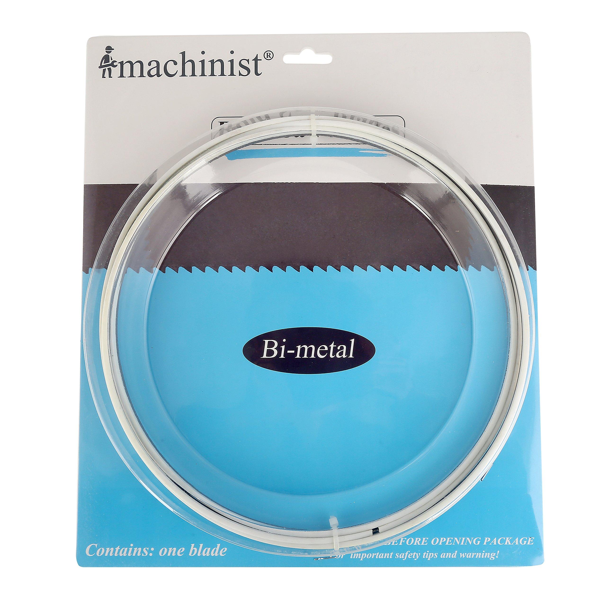 """Imachinist S88181214 M42 88"""" (2240mm) X 1/2"""" (13mm) X 14tpi Bi-metal Soft Metal Cutting Band Saw Blades"""