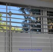 PrivaBeam Add-on Set for Window Blinds, top and Bottom Operated Separately, Sunlight let in from top While Privacy Kept from Bottom, Better Than top Down Bottom up Blinds, Size: Medium, Model#: BCS22