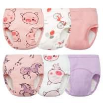 Training Underwear for Girls Toddler Training Underwear Potty Training Underwear Girls 12-18 Months Potty Training Pants Girls Potty Training Underwear Waterproof Training Pants for Toddlers