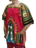 RaanPahMuang Dashiki African Shirts Men Women 100% Cotton African Freedom Shirt