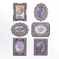Martha Stewart Halloween Lenticular Frame Stickers