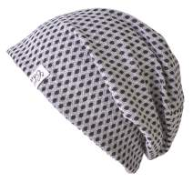 Mens Organic Cotton Slouchy Beanie - Womens Soft Chemo Hat Japanese Hipster Cap