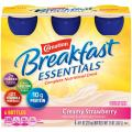 Carnation Breakfast Essentials Ready to Drink, Strawberry, 8 Fluid Ounce (Pack of 24)