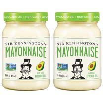 Sir Kensington's Mayonnaise, Avocado Oil, 16 Fl Oz (Pack of 2)