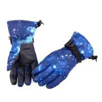 Azarxis Waterproof Ski Snow Gloves, Winter Warm Windproof Glove for Men & Women