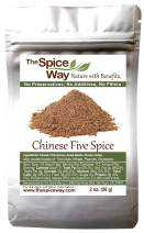The Spice Way Chinese Five Spice Seasoning - Traditional Authentic Powder Blend 2 oz