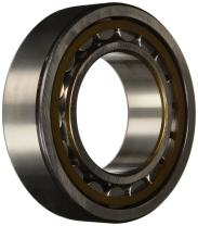 SKF NU 2222 ECP/C3 Cylindrical Roller Bearing, Straight Bore, Removable Inner Ring, High Capacity, Polyamide/Nylon Cage, Metric, C3 Clearance, 110mm Bore, 200mm OD, 53mm Width
